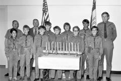 Boy Scout Troop 122 Awards Night G'town 1972