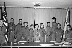 Boy Scout Troop 126 Hillsdale 1964