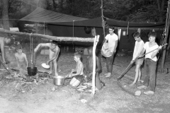Boy Scout Troop 132 Livingston on a 4 day camp out 1961 (1)