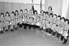 Brownie Troop #9 Mrs. Trowbridge Greenport 1967