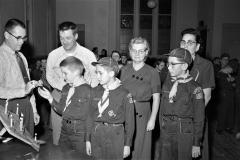 Cub Scout Award Night G'town 1957