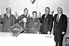 Cub Scout Blue & Gold Dinner G'town 1962