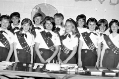 Girl Scout Troop Awards Dinner at GCS G'town 1966
