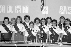 Girl Scout Troop Court of Awards G'town 1965