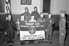 G'town Boy Scouts Troop 122 John Sharpe Scout Master 1958