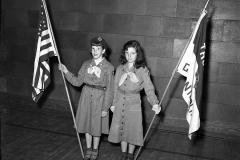 G'town Girl Scouts Nancy Bullard (L) 1953