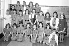 G'town Mrs. Rowen's Brownie Troop 1967