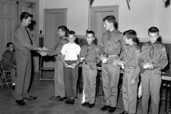 G'town Troop 122 Merit Badge Awards Dave Webber, Scout Master 1964