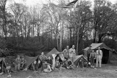 Hudson Boy Scouts at Camp 1956 (1)