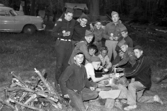 Hudson Boy Scouts at Camp 1956 (2)
