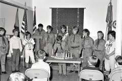 Hudson Scout Troop 109 Induction Ceremony 1973 (2)