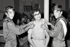Hudson Scout Troop 109 Induction Ceremony 1973 (3)