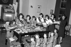Kinderhook Girl Scouts at American Legion Post 1470 1968 (1)