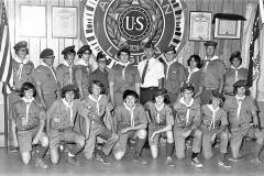Scout Troop 102 Hudson 1973