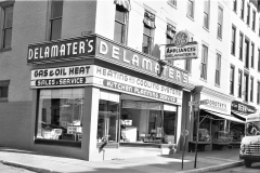 Delamater's Appliances 6th & Warren St. Hudson 1954