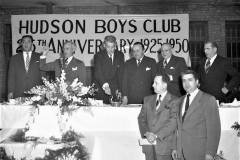 Hudson Boy's Club burning the mortgage 1950
