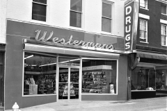 Westerman's Pharmacy 622 Warren St. Hudson 1954