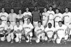 Giants Baseball Team Hudson 1967