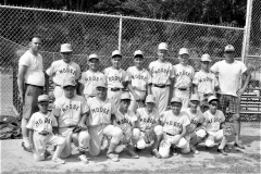 Hudson Moose LL Baseball Team 1968