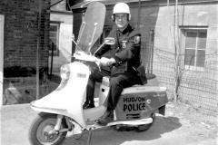 Hudson Police Motorbike Lou Brenner 1967