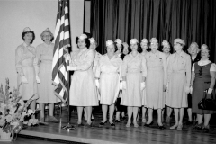 Hudson V.F.W. and  Auxiliary flag dedication at John L. Edwards School 1965 (4)