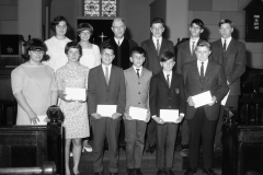 Methodist Church Confirmation Hudson 1967