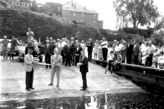 Ribbon Cutting Hudson Boat Launch Aug. 1968