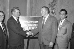 Schwerman Trucking Annual Banquet at Kozals 1965 (2)