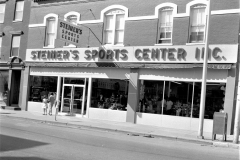 Steiner's Sport Center Grand Opening of new store Warren St.  Hudson 1965 (1)