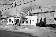 Warren's Garage 3rd & Allen St. Hudson 1969