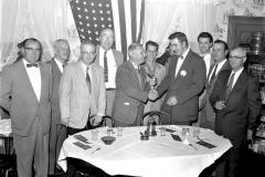 Bud Bohnsack incoming G'town Lion President 1950's
