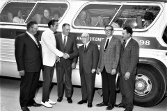 G'town Lions off to Monticello Raceway 1968