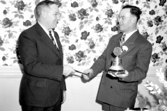 Lions Club Dr Henry new Pres Worth Hotel Hudson 1948