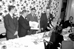 Lions Club at Worth Hotel Hudson 1948